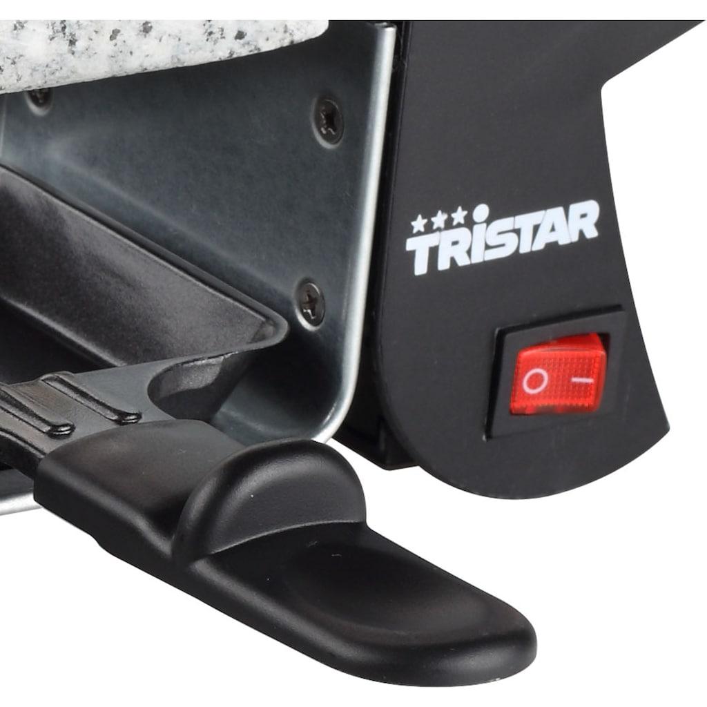 Tristar Raclette »2990 & Steingrill«, 4 St. Raclettepfännchen, 500 W