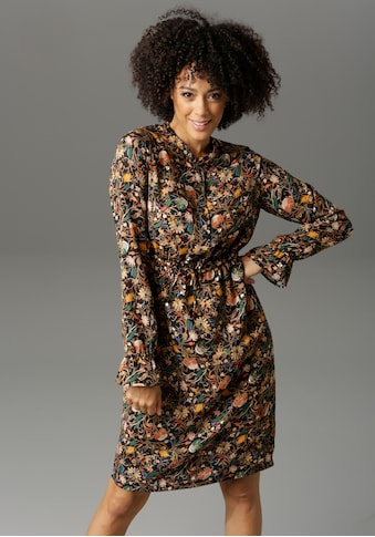 Aniston CASUAL Blusenkleid, mit farbenfrohen Blumendruck kaufen