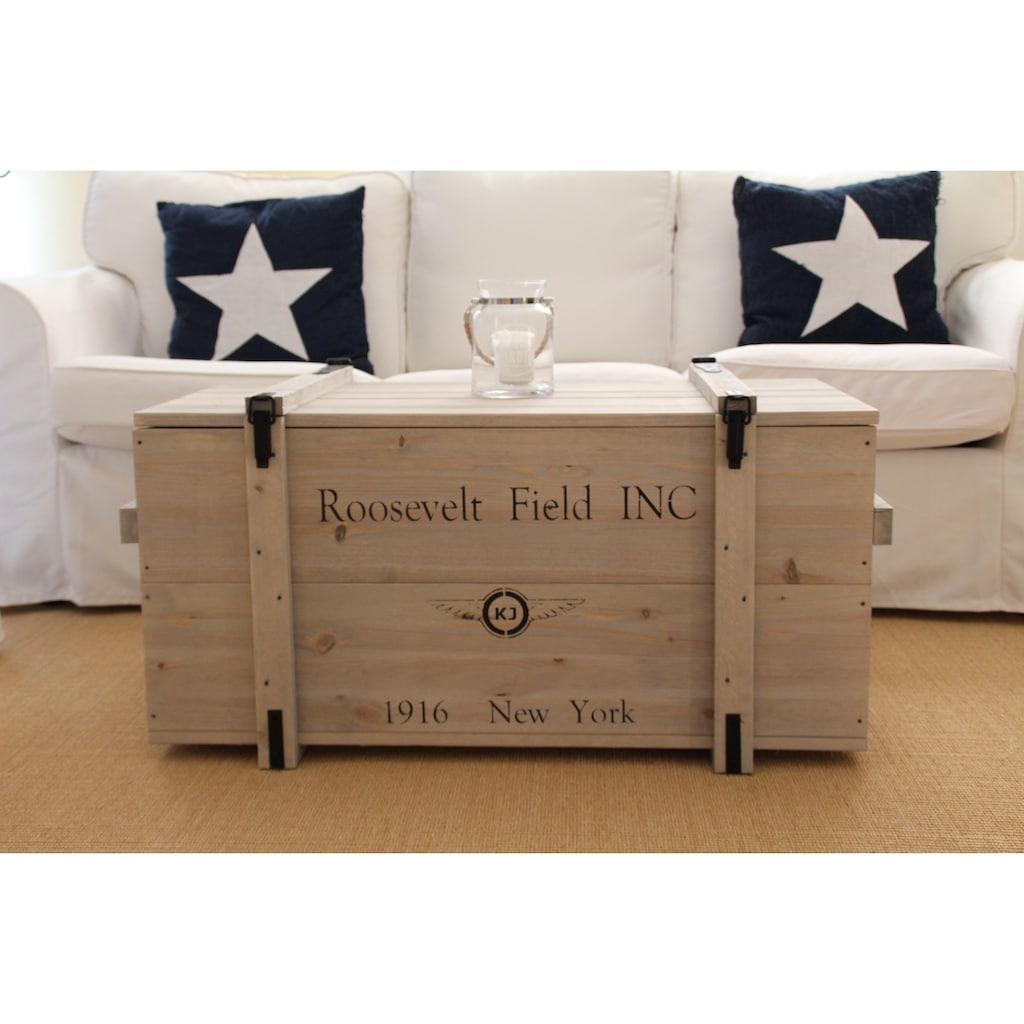 Uncle Joe´s Truhentisch »Roosevelt Field«, im Vintage-Stil