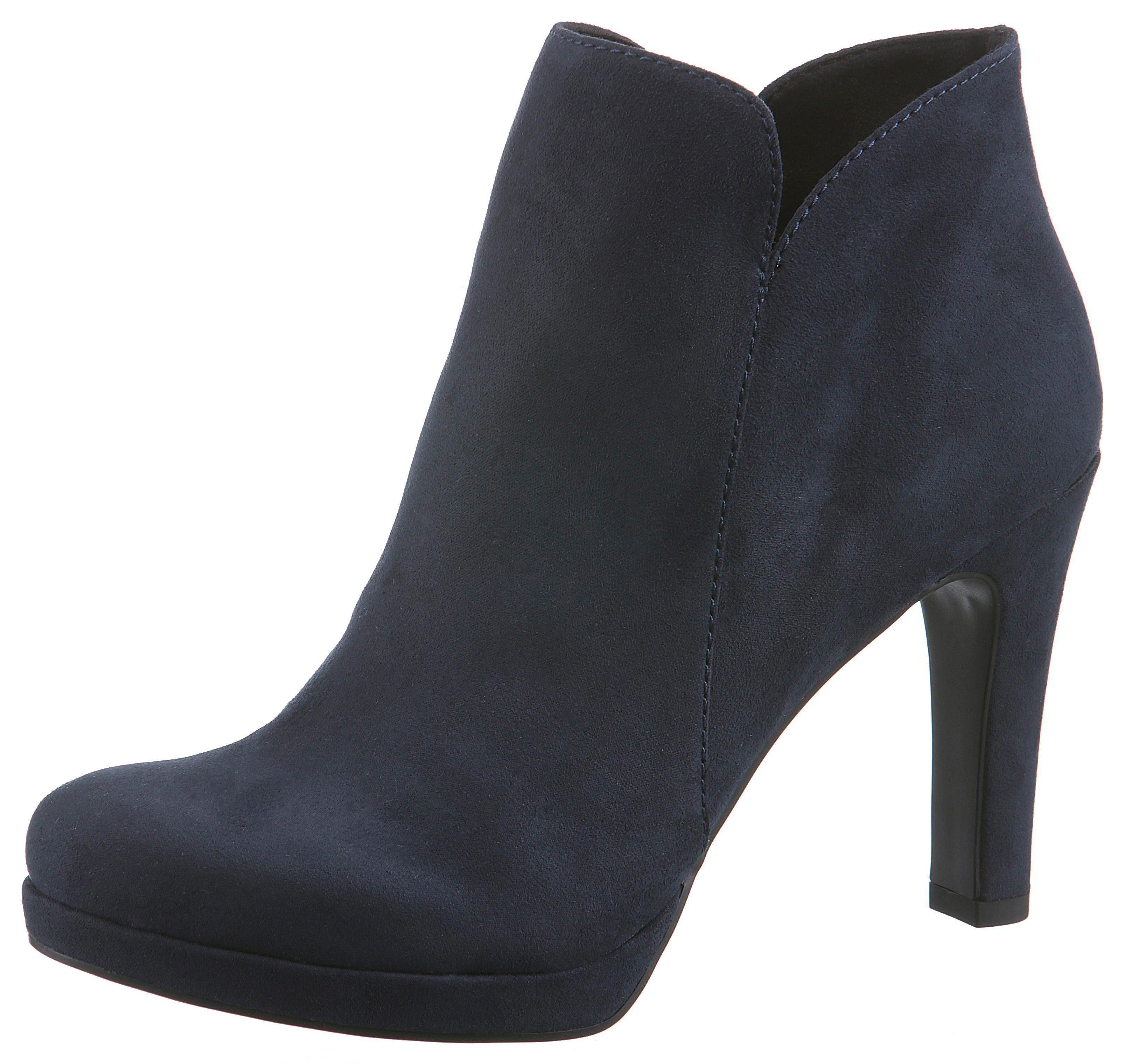 Tamaris High-Heel-Stiefelette   Schuhe > High Heels > High Heel Stiefeletten   Blau   Tamaris