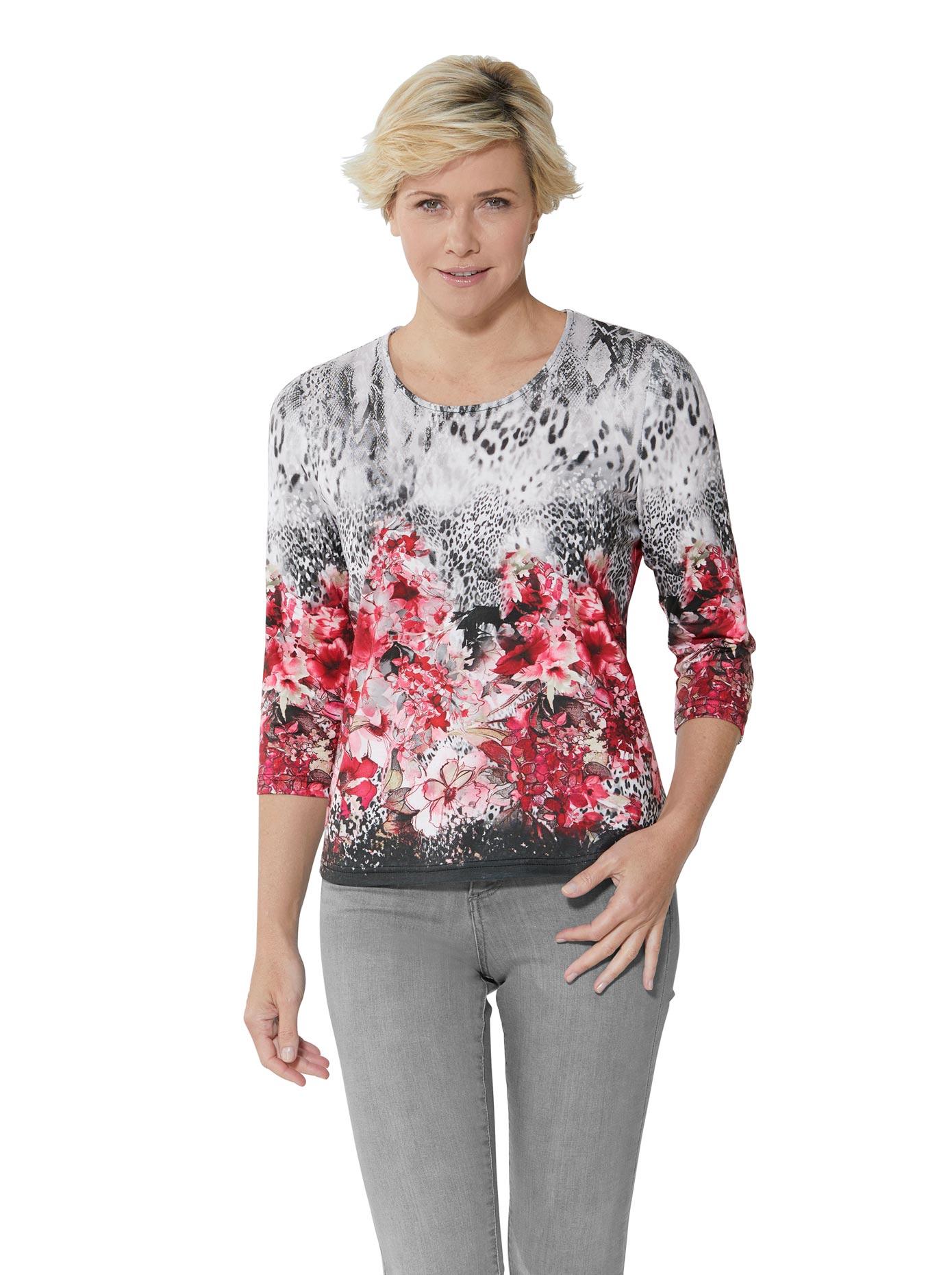 lady -  Shirt mit einem tollen Muster