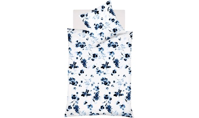 fleuresse Wendebettwäsche »Provence Cassis 344103«, Aquarellblüten kaufen