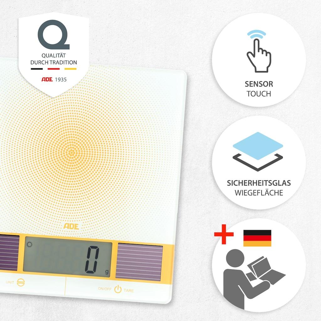 ADE Küchenwaage »KE1130 Helia«, Solar