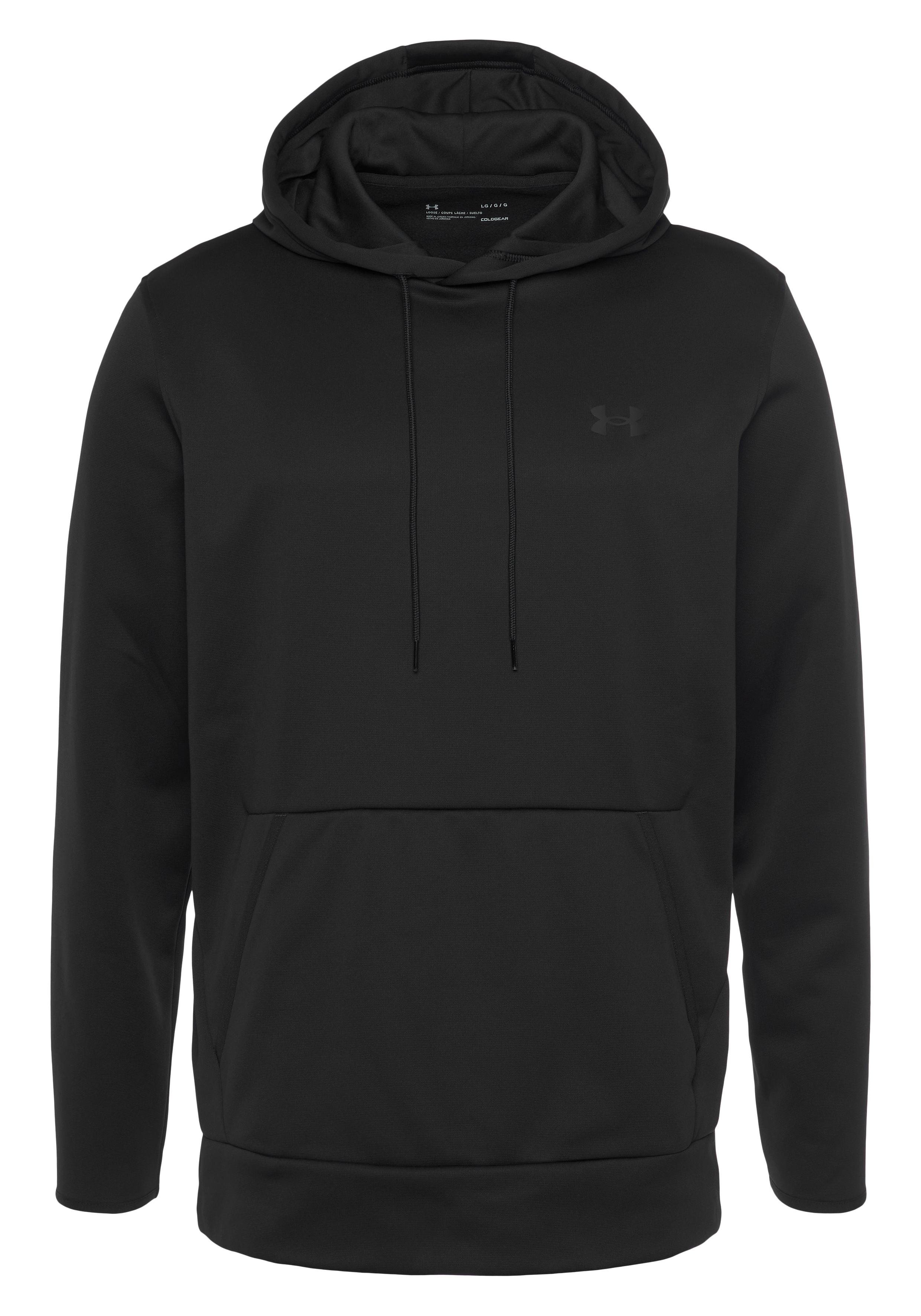 Under Armour Kapuzensweatshirt UA ARMOUR FLEECE HOODY schwarz Herren