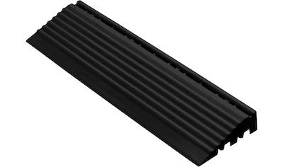 FLORCO Kantenleisten Seitenteil schwarz mit Stift, 30 cm kaufen