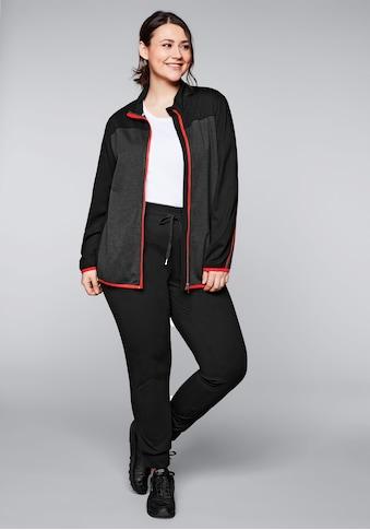 Sheego Sweatshirt, und Hose im Set, atmungsaktiv und schnelltrocknend kaufen