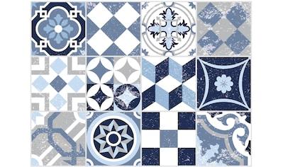 Contento Platzset »Mosaik, blau«, für innen und außen geeignet, wasserabweisend kaufen