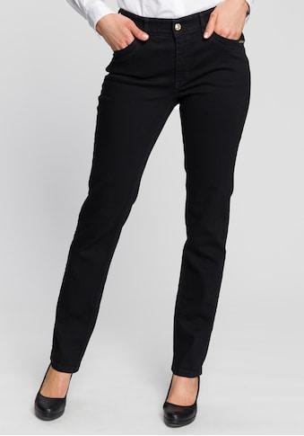 MAC Straight-Jeans »Melanie-New bright«, Mit neuer Taschenlösung und Nieten an den... kaufen