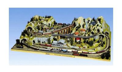 """NOCH Modelleisenbahn - Fertiggelände """"Silvretta"""", Spur H0 kaufen"""