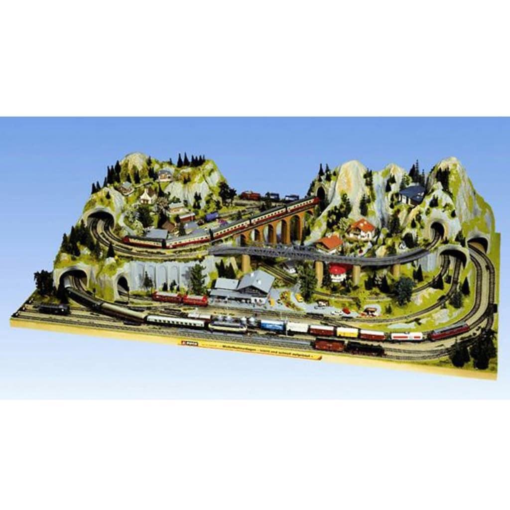 NOCH Modelleisenbahn-Fertiggelände »Silvretta«, Made in Germany