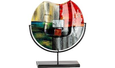 GILDE GLAS art Dekovase »Mirano 1«, handbemalt mit Fusingglas-Elementen kaufen