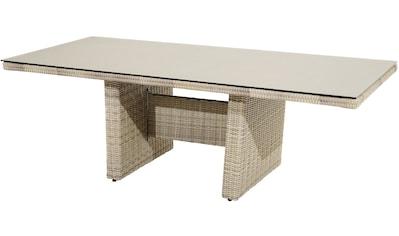 PLOSS Gartentisch »Sahara«, Polyrattan, 220x100 cm kaufen