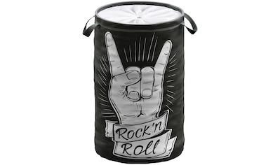 Sanilo Wäschekorb »Rock 'n' Roll«, 60 Liter, faltbar, mit Sichtschutz kaufen