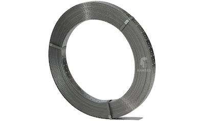 RAMSES Windrispenband , 40x1,5 mm Stahl sendzimirverzinkt 50 Meter Rolle kaufen