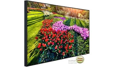 Papermoon Infrarotheizung »Blumen im Garten«, sehr angenehme Strahlungswärme kaufen