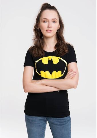LOGOSHIRT T-Shirt »Batman-Logo«, mit lizenziertem Originaldesign kaufen