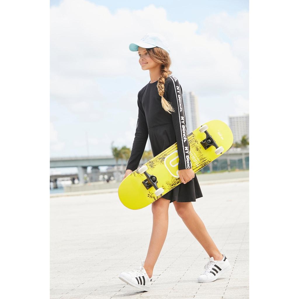 Bench. Jerseykleid, Logo Druck mit Glitzerdetails