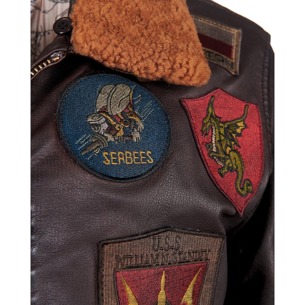 TOP GUN Military-Jacke »Seabees«, Sportlicher Schnitt