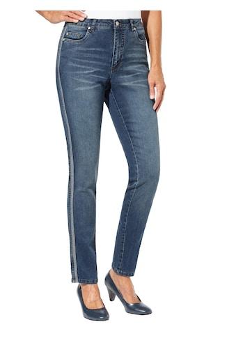 Inspirationen Jeans mit optisch streckendem Galonstreifen kaufen