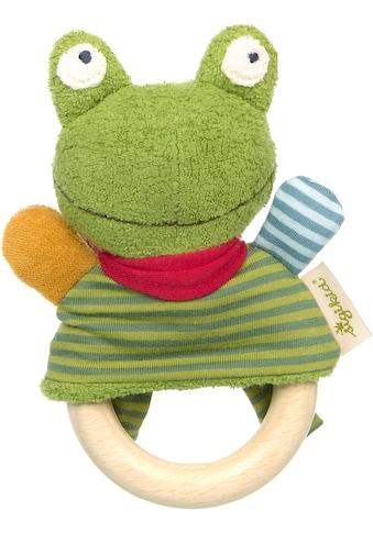 Sigikid Greifling »Green Collection, Greifring Frosch«, mit Rassel; Made in Europe kaufen