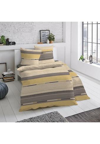 TRAUMSCHLAF Bettwäsche »Andros«, Biberbettwäsche weich und kuschelig kaufen