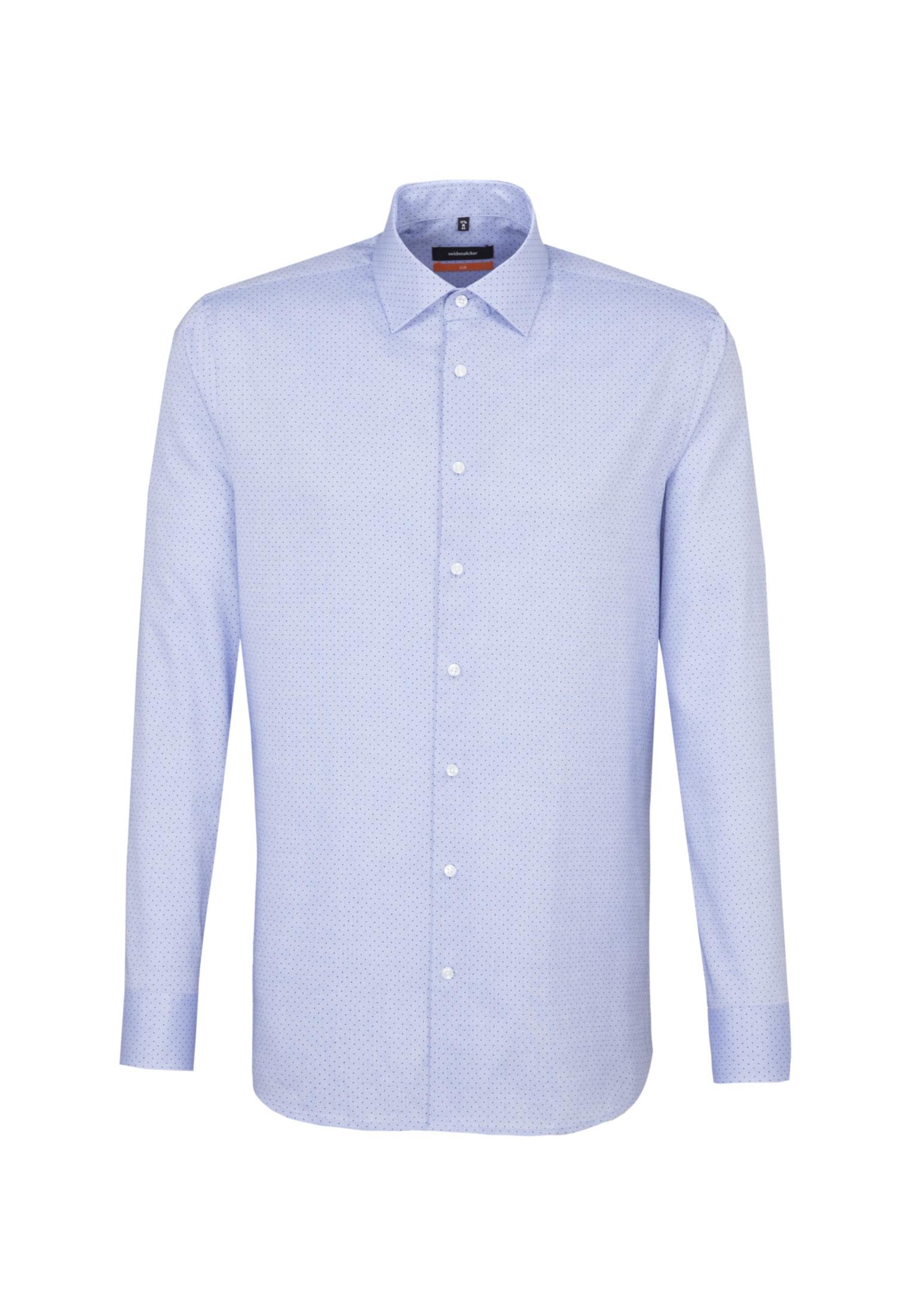 seidensticker Businesshemd Slim | Bekleidung > Hemden > Business Hemden | Blau | Seidensticker