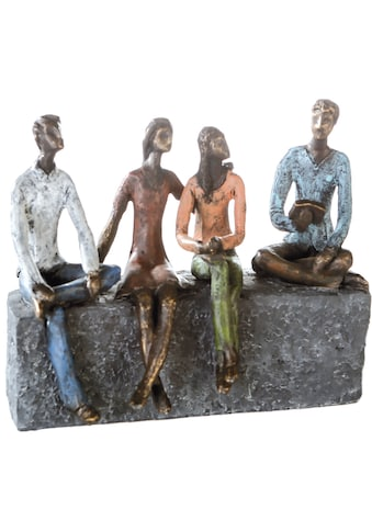 Casablanca by Gilde Dekofigur »Skulptur Network«, Dekoobjekt, Höhe 21 cm, mit... kaufen
