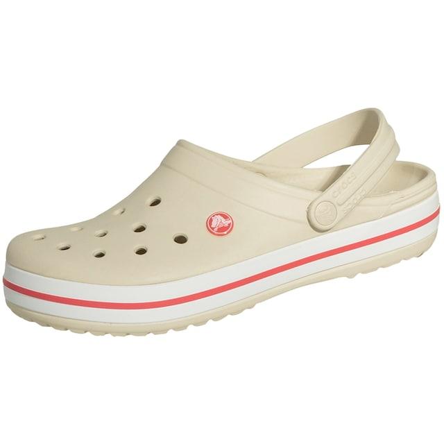 Crocs Clog »Crocsband«, cremeweiß