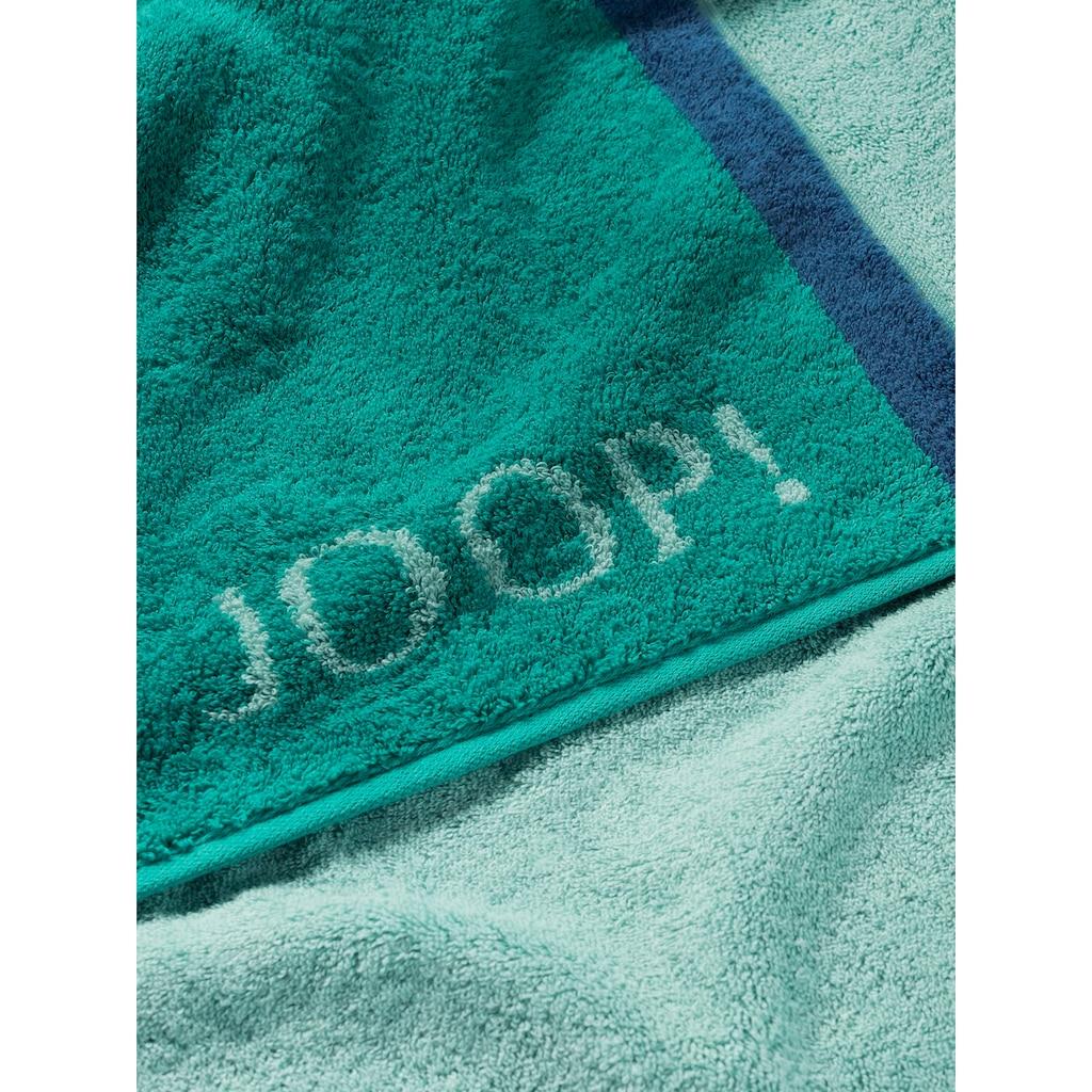 Joop! Handtücher »FRAME CONTOUR«, (2 St.), mit farblich abgesetzten Seiten