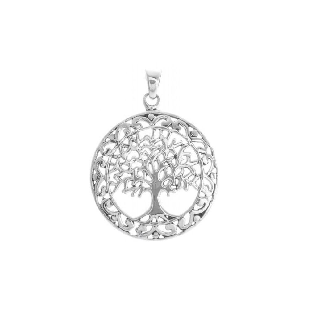 Adelia´s Kettenanhänger »925 Sterling Silber - Anhänger Lebensbaum«, 925 Lebensbaum Silber poliert