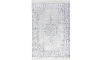 NOURISTAN Teppich »Orient Vintage Medaillon«, rechteckig, 5 mm Höhe, Wohnzimmer kaufen