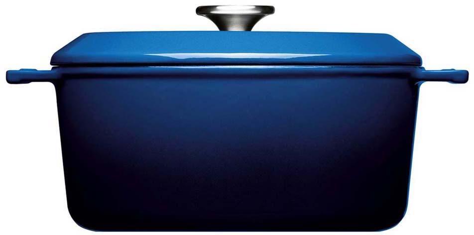 WOLL Kochtopf Iron, Gusseisen, (1 tlg.), Ø 24 cm, Induktion blau Gemüsetöpfe Töpfe Haushaltswaren