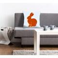 queence Kissenhülle »Lindt«, (1 St.), mit einem orangenen Hasen