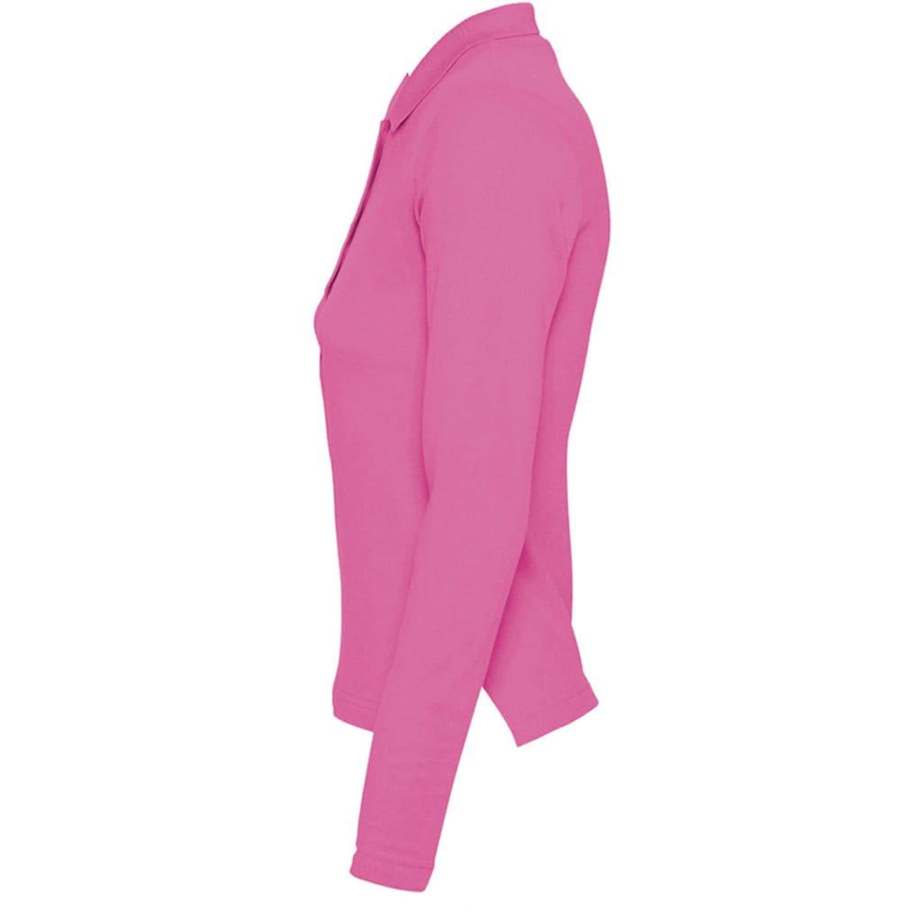 SOLS Poloshirt »Podium Damen Pique Polo-Shirt, Langarm«