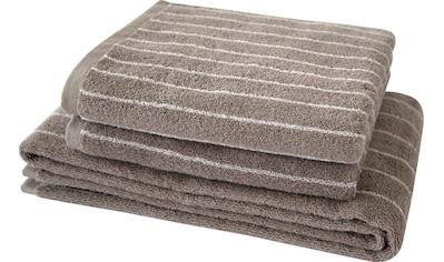 Handtuch Set, »Nadelstreifen 2«, Dyckhoff kaufen