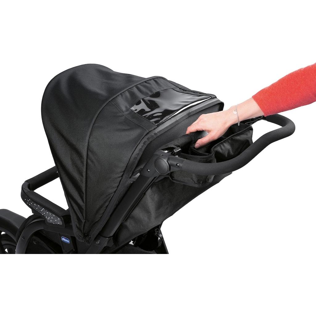 Chicco Kombi-Kinderwagen »Trio-System Activ3 Top, Jet Black«, 15 kg, mit Regenschutz; Kinderwagen
