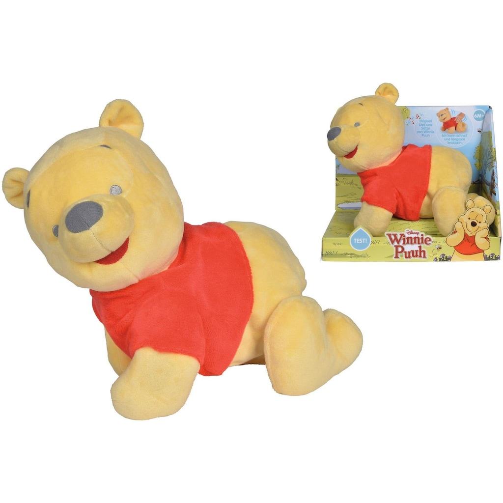 SIMBA Kuscheltier »Disney Winnie the Pooh, Krabbel mit mir«, mit Bewegung und Sound