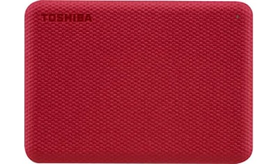 Toshiba externe HDD-Festplatte »Canvio Advance 4TB Red 2020« kaufen