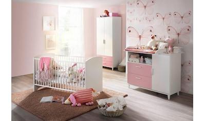 rauch BLUE Babyzimmer-Komplettset »Nizza«, (Set, 3 St.), Bett + Wickelkommode + 2 trg.... kaufen