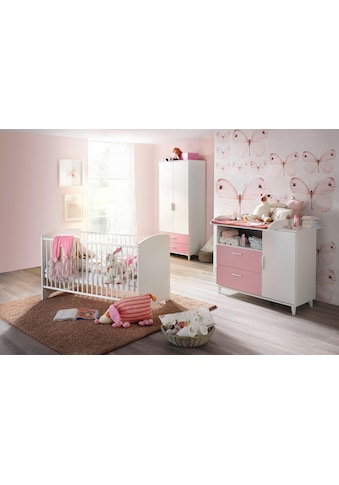 rauch BLUE Babyzimmer-Komplettset »Nizza«, (Set, 3 tlg.), Bett + Wickelkommode + 2 trg. Schrank kaufen