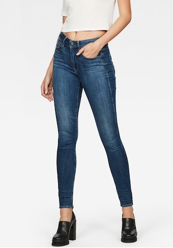 G - Star RAW Skinny - fit - Jeans »3301 High Waist Skinny« kaufen