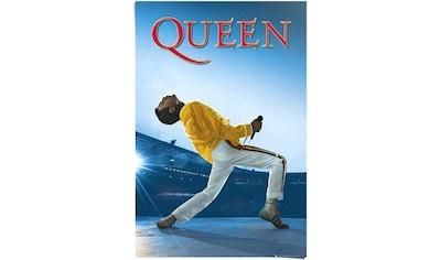 Reinders! Poster »Queen Freddie Mercury - Wembley-Stadion - Musik - Queen Album«, (1 St.) kaufen