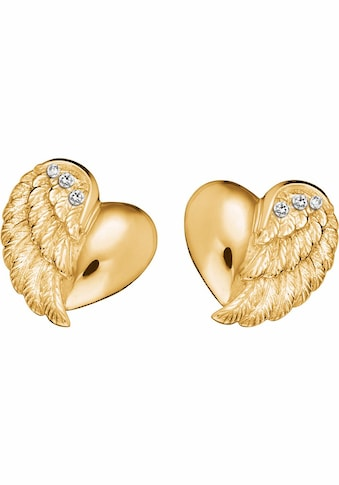 Engelsrufer Paar Ohrstecker »Little magic, OHRSTECKER HERZFLÜGEL ZIRKONIA GOLD PLATED, ERE - LILHEARTWING - STG« kaufen