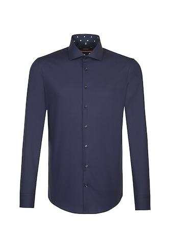 seidensticker Businesshemd »Slim«, Slim Extra langer Arm Kentkragen Uni kaufen