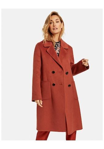 GERRY WEBER Wollmantel »Mantel mit Wolle« kaufen