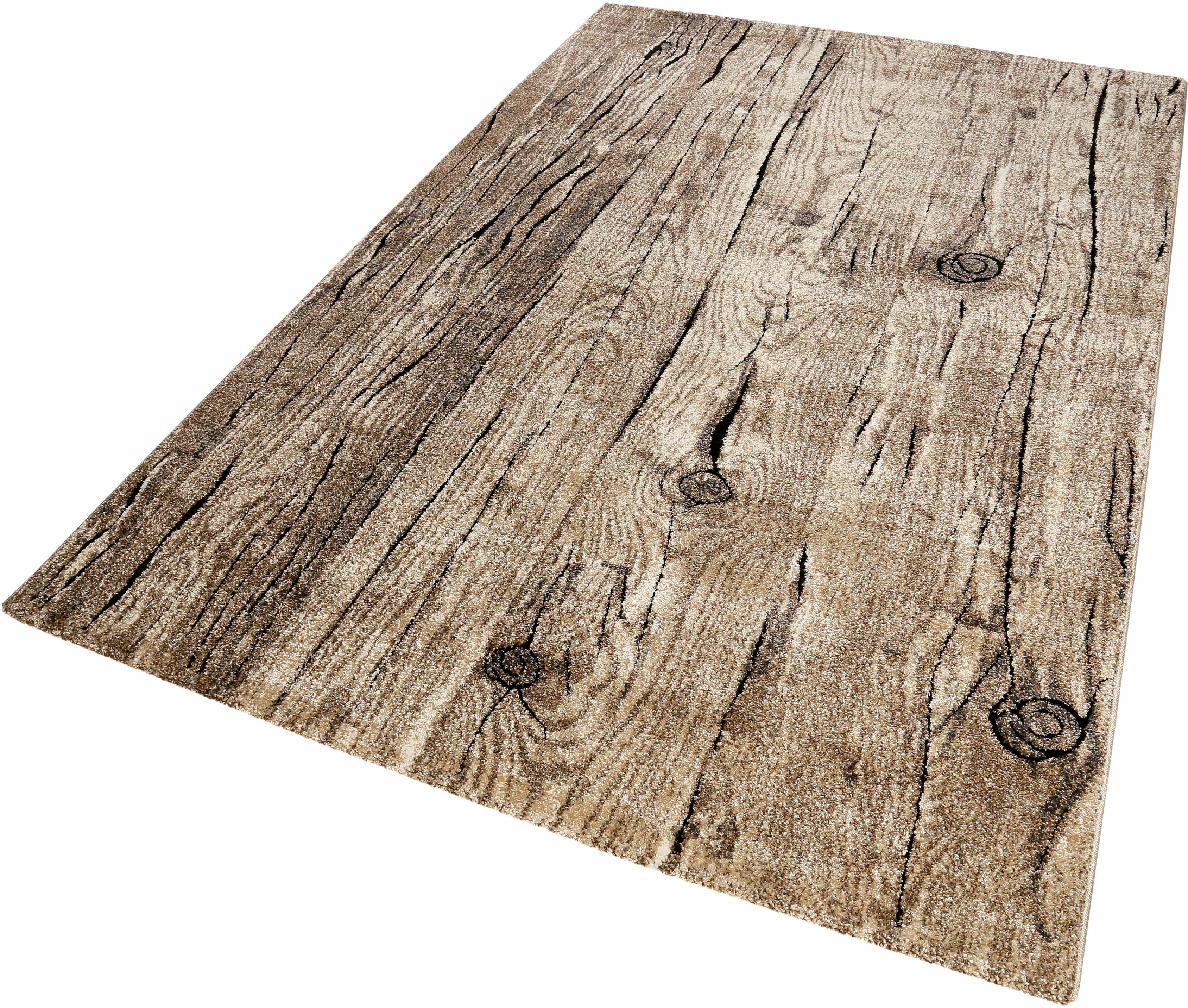Teppich Woody Wecon Home rechteckig Höhe 13 mm maschinell gewebt