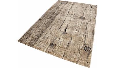 Teppich, »Woody«, Wecon home, rechteckig, Höhe 13 mm, maschinell gewebt kaufen