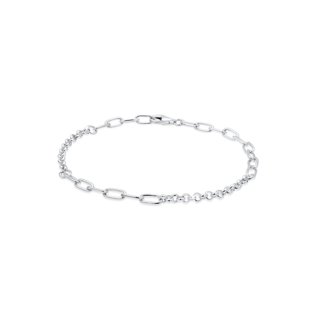 Nenalina Armband »Charmträger Bettelarmband Basic 925 Silber«