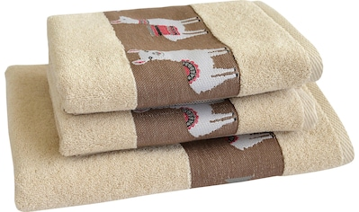 Handtuch Set, »Lama«, Dyckhoff kaufen