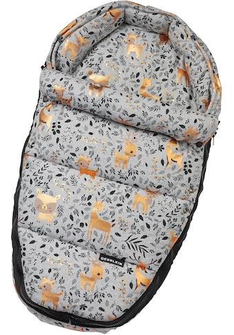 Gesslein Babywanne »Baby Nestchen, grau meliert Reh«, für Kinderwagenwannen,... kaufen